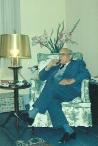 Lord Salter, 1960s at Hickory Farm. Tyringham, MA
