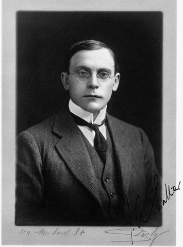 Sir Arthur Salter, 1920s